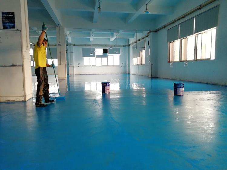 水性环氧聚氨酯罩光面漆材料施工方法