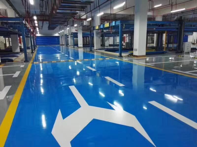 邓州地下停车场环氧地坪公司_邓州环氧地坪漆厂家