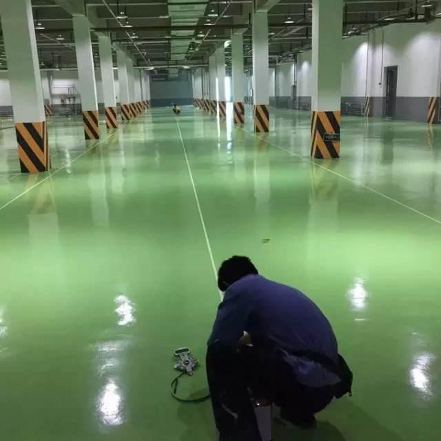 耐磨地坪漆和工厂地面的维护方法