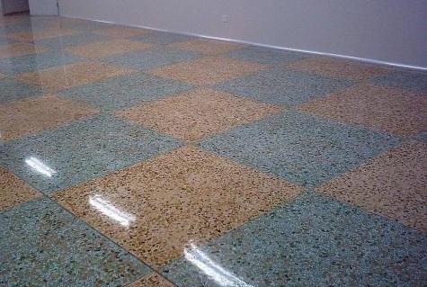 環氧彩砂自流平面漆材料