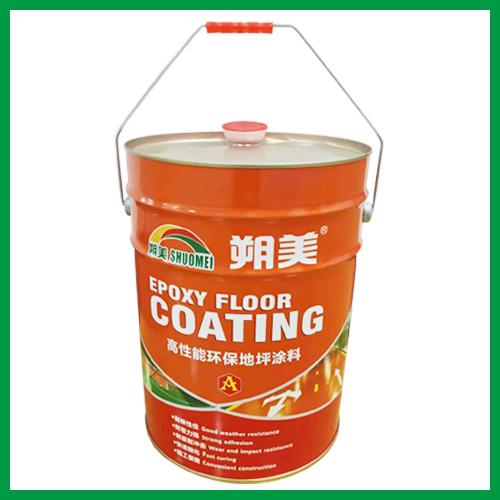 桔紋防滑環氧地坪漆面漆材料