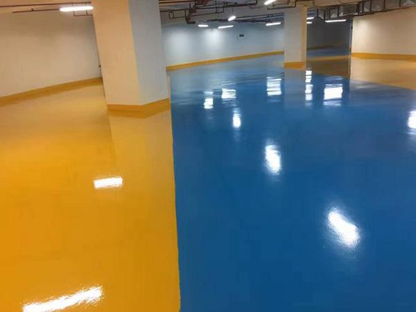 环氧树脂地坪漆的特性