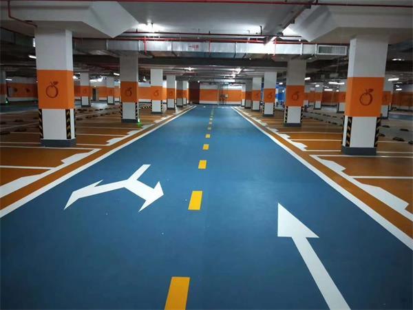 地下停車場為什么要選用砂漿地坪